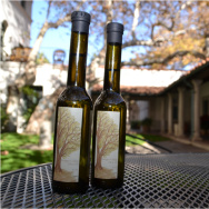Bottlel of Olive Oil produced by Scripps College