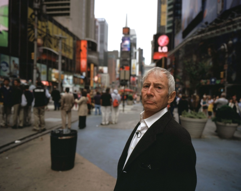 Photo of Robert Durst in New York City. He is the subject of the new HBO documentary series,