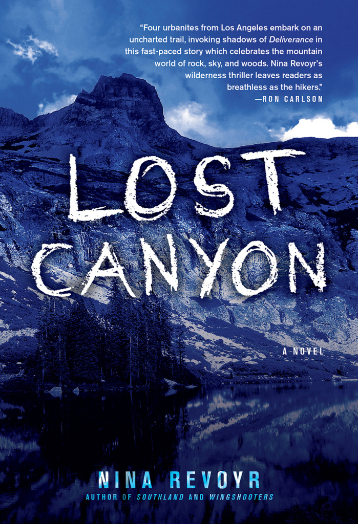 The cover of 'Lost Canyon' by Nina Revoyr.