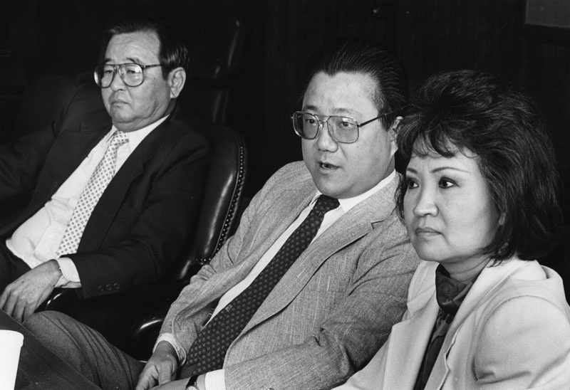Lily Lee Chen became the first female Chinese mayor in the United States when she was elected mayor of Monterey Park in 1984. Masani