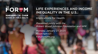 People in all income groups view income inequality as a serious problem.