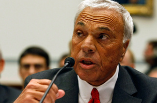 File photo: Angelo Mozilo, founder and former CEO, Countrywide Financial Corporation, testifies during a House Oversight and Government Reform hearing on Capitol Hill March 7, 2008 in Washington, DC.