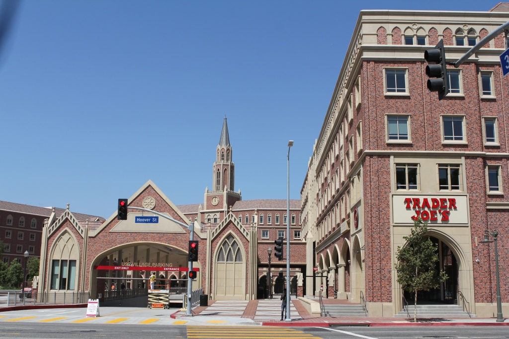 The new USC Village features a Trader Joe's, Target and 15 restaurants.