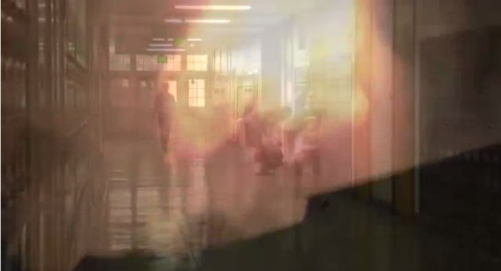 beverly hills high school subway fireball video