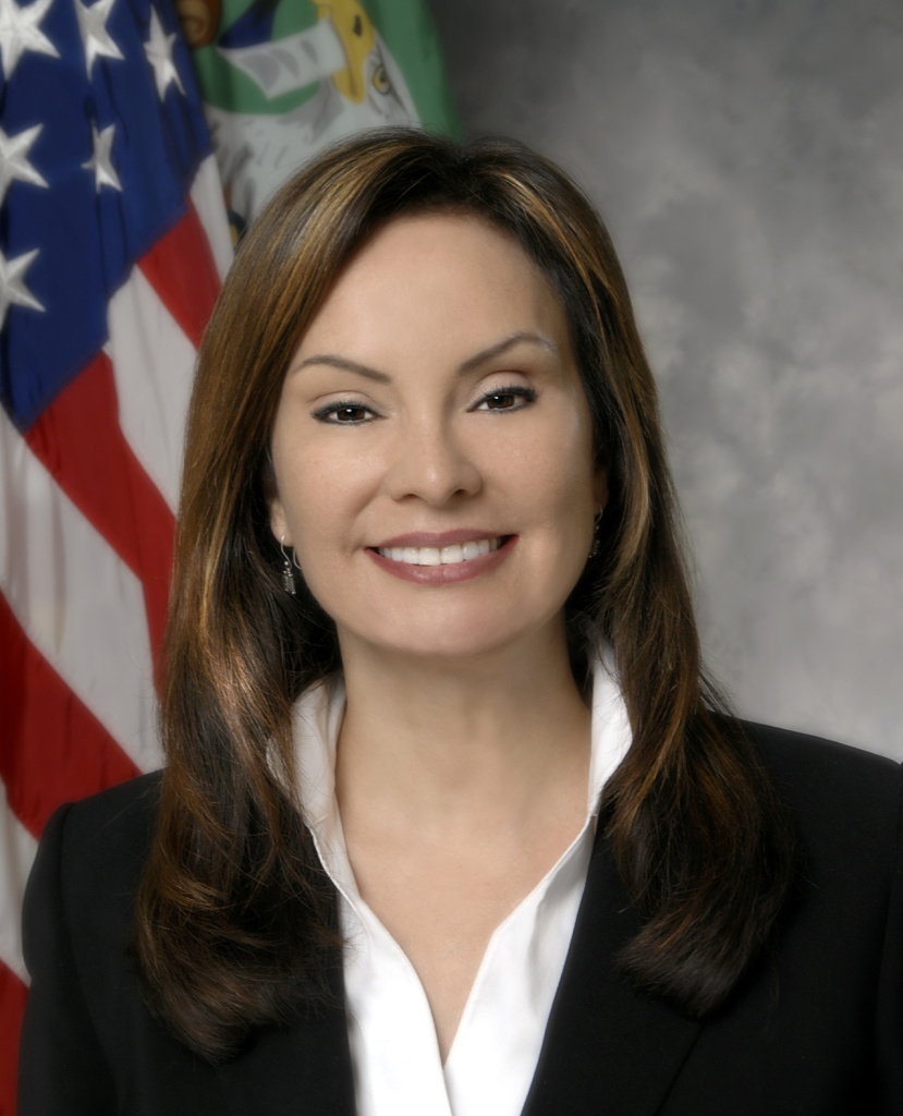 Rosie Rios, the 43rd treasurer of the United States.