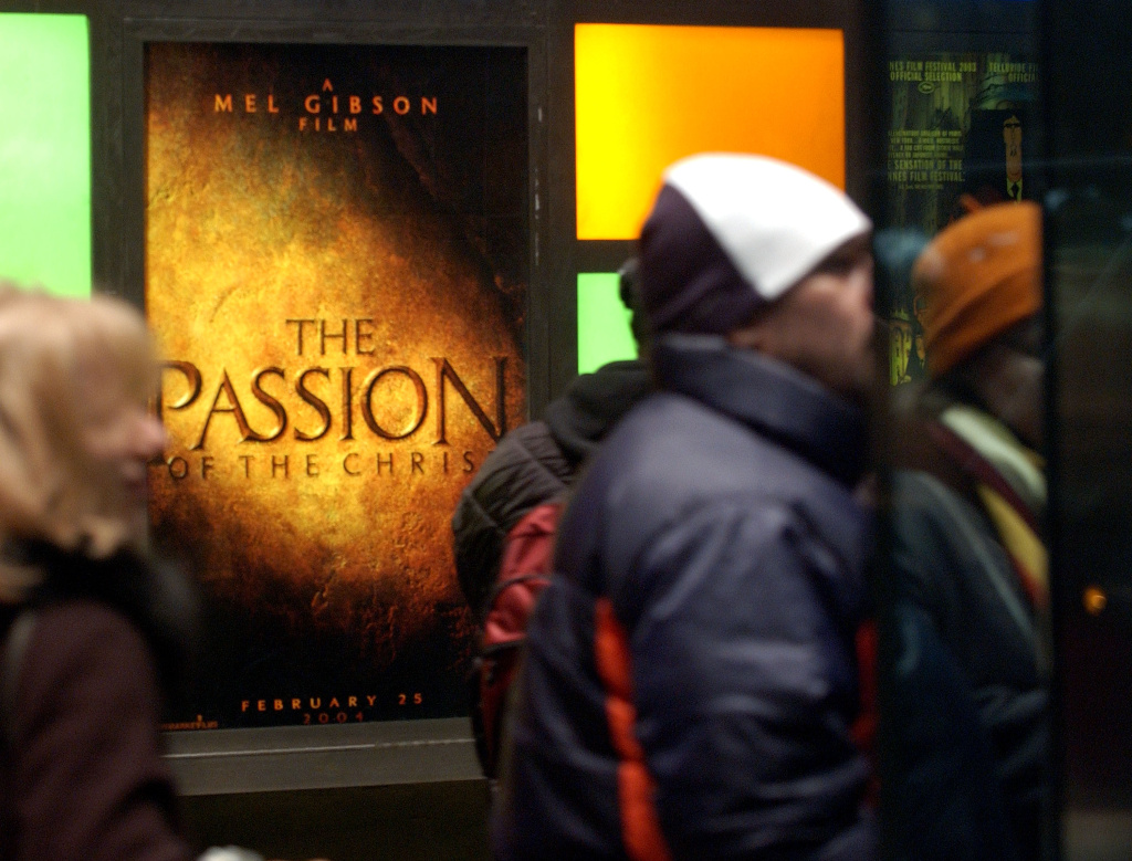 The movie 'The Passion of the Christ' was considered a game changer for the faith based film industry grossing more than $600 million when it was released in 2004.