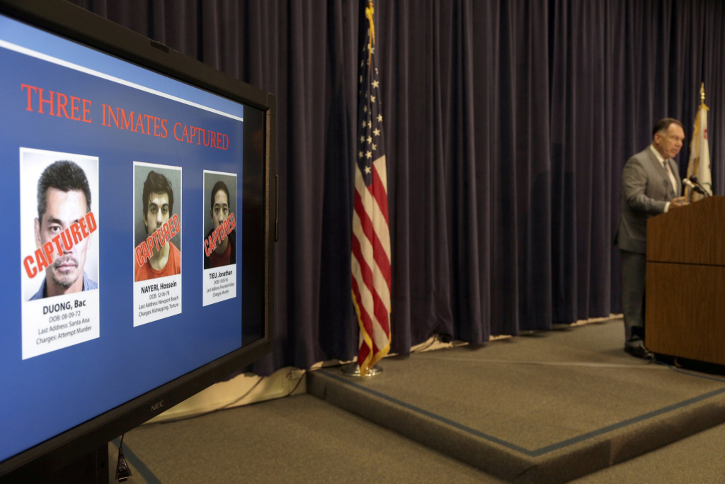 OC supervisors to consider who gets reward for jail escapees