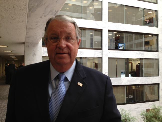 LA County Supervisor Don Knabe meets with lawmakers on Capitol Hill