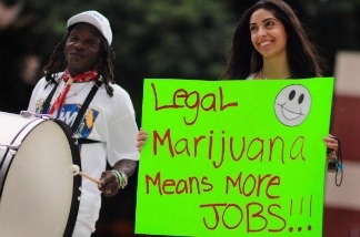 A proponent for the legalization of marijuana.