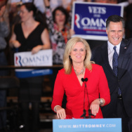Romney Holds Illinois Primary Night Party In Suburban Chicago