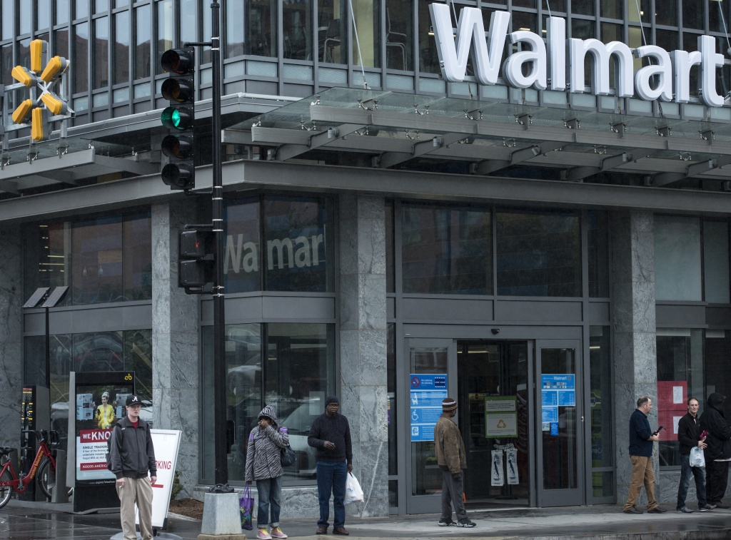 A view of a Walmart September 25, 2014 in Washington, DC.