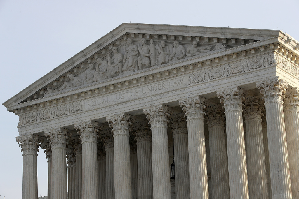 The U.S. Supreme Court is shown on December 4, 2017 in Washington, DC.
