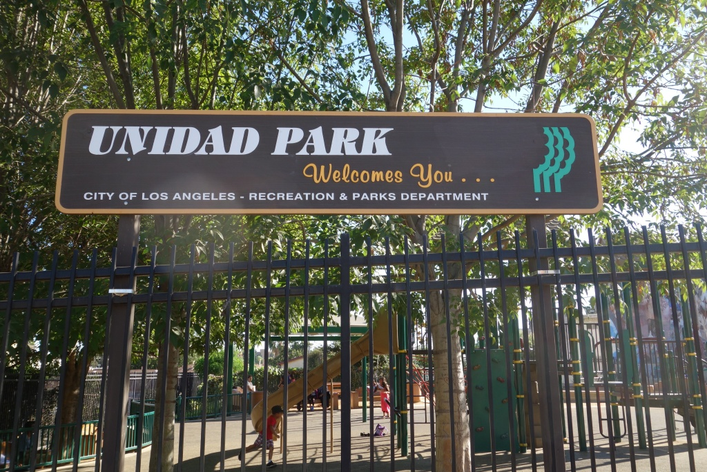 Unidad Park is tiny, built in Historic Filipinotown near downtown with just $2 million provided by the nonprofit Los Angeles Neighborhood Land Trust.