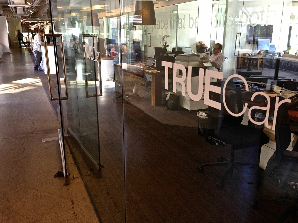 TrueCar Inc., which went public last year and grown to a billion dollar-plus company, has headquarters headquarters so close to the beach you can see the waves crashing ashore from some offices.