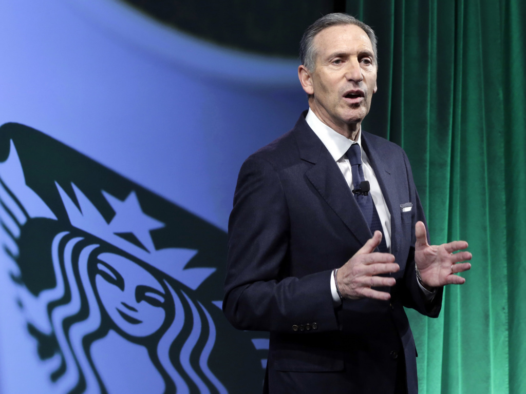 Starbucks Chairman and CEO Howard Schultz says the company plans to hire 10,000 refugees over the next five years, in response to President Trump's executive order on immigration. Schultz says it
