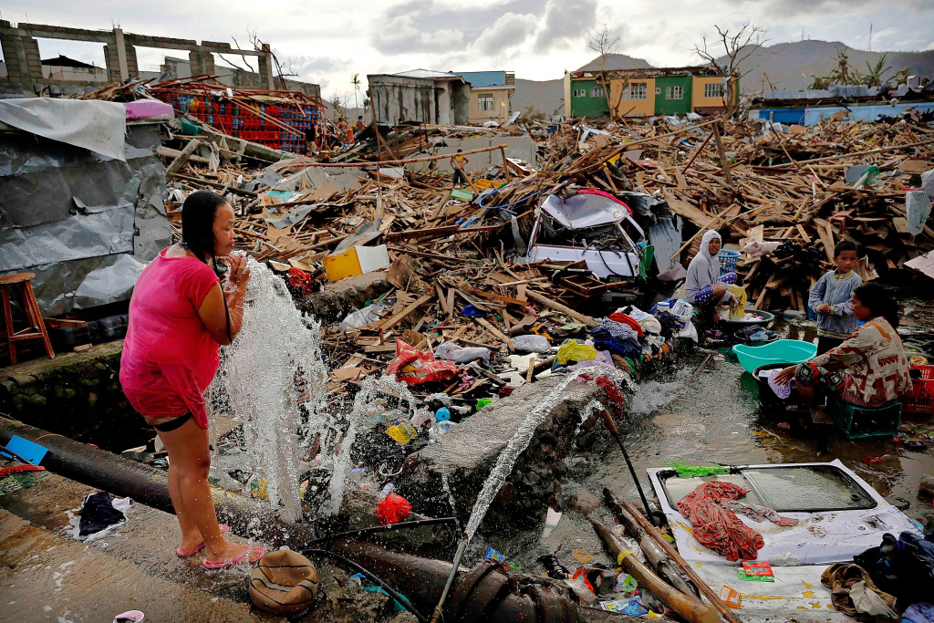 take two typhoon haiyan victims face many health risks. Black Bedroom Furniture Sets. Home Design Ideas