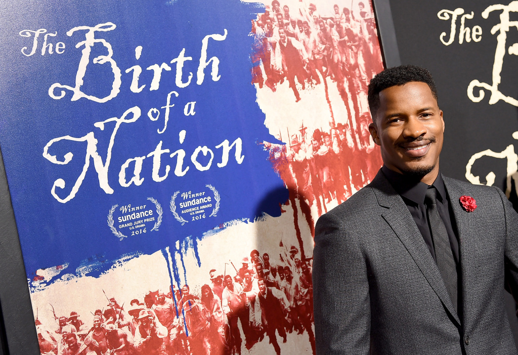 Writer/director Nate Parker attends the premiere of Fox Searchlight Pictures'