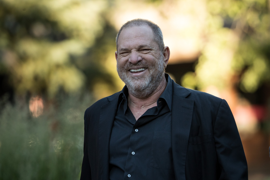 Harvey Weinstein, co-chairman and co-founder of Weinstein Co., attends the second day of the annual Allen & Company Sun Valley Conference, July 12, 2017 in Sun Valley, Idaho.