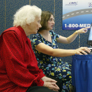 Tommy Thompson Kicks Off Medicare Drug Card Enrollment