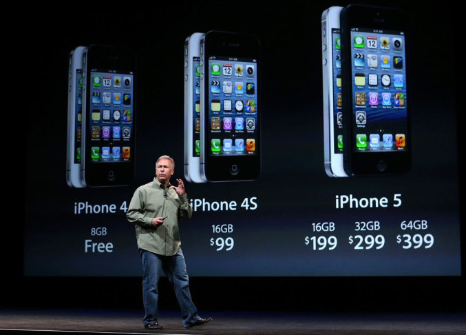 Apple introduces the iPhone 5 in San Francisco. It was the first time that the technology juggernaut, the most valuable California company by far, introduced a new device since Steve Jobs' death. Will it be enough to make Apple the world's first $1 trillion company in 2013?