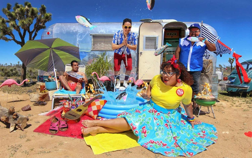 The LA based band, La Santa Cecilia.