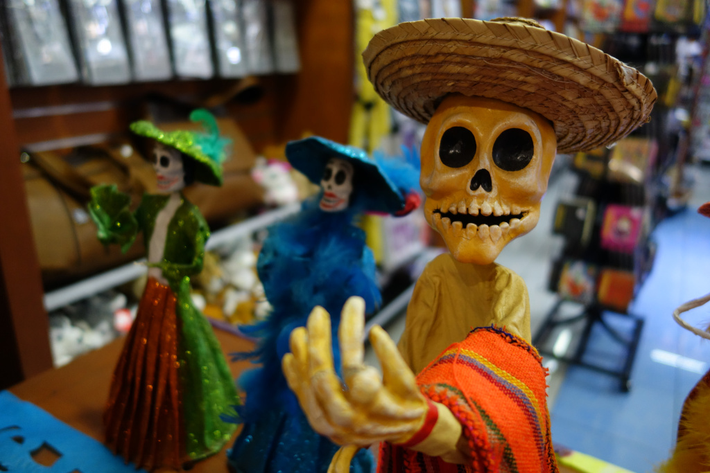 October has arrived, and with it comes the traditional cultural activities of the season — like this weekend's Day of the Dead celebration.