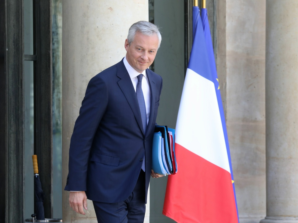 France will levy a 3% tax on digital companies that make large profits in the country. French Economy and Finance Minister Bruno Le Maire, who championed the measure, is seen here on Wednesday in Paris.