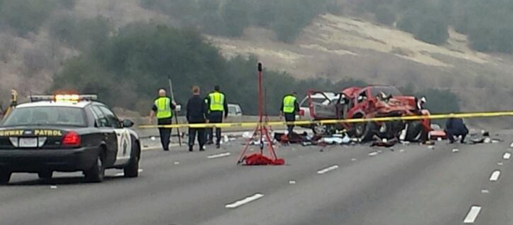 60 Freeway crash