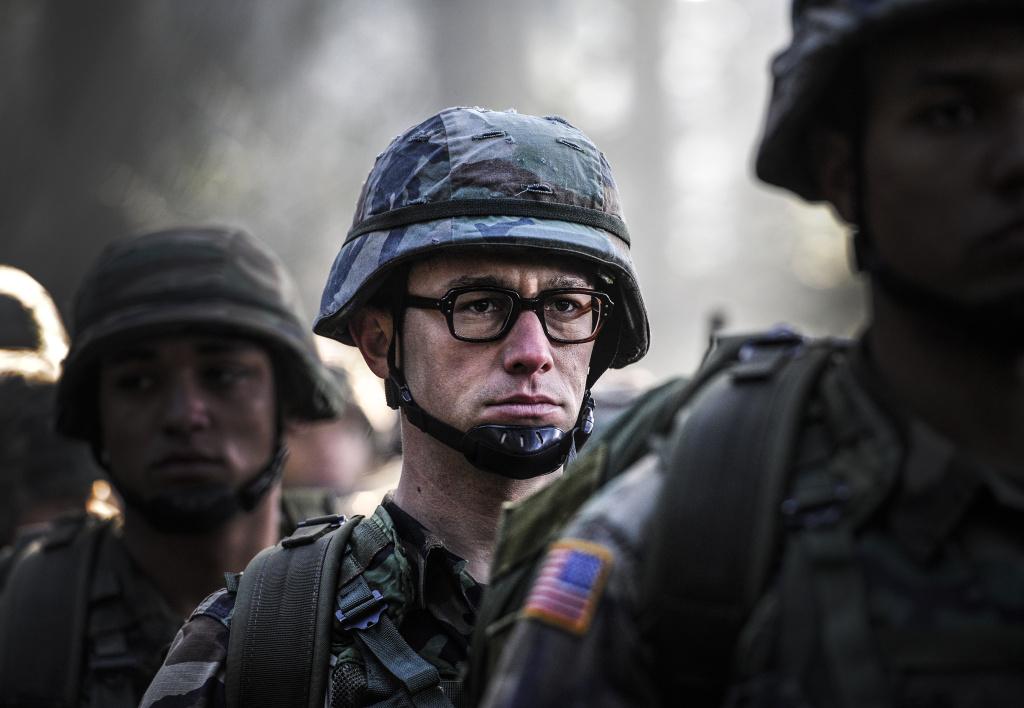 Joseph Gordon-Levitt plays Edward Snowden in Oliver Stone's new movie 'Snowden.'