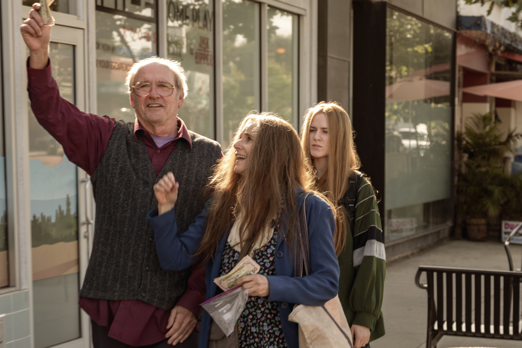 (L to R) Richard Jenkins, Debra Winger and Evan Rachel Wood in