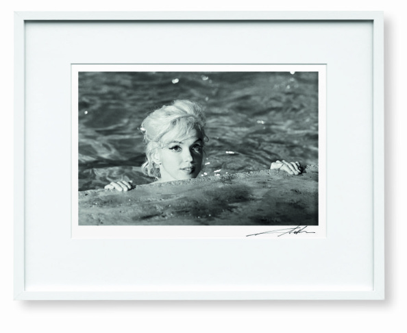 Lawrence Schiller image of Marilyn Monroe in 1962.