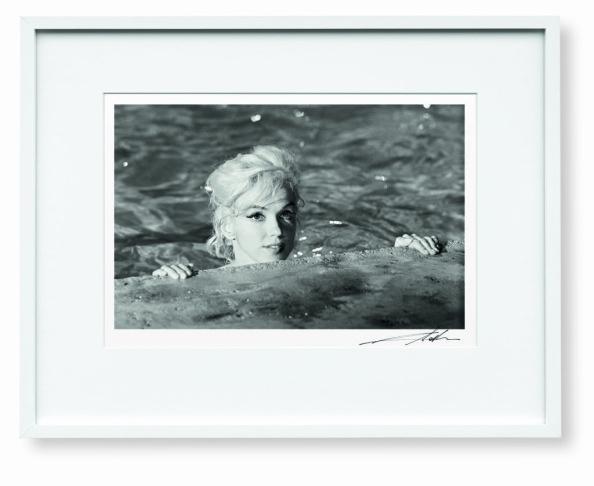 Lawrence Schiller image of Marilyn Monroe in 1962.