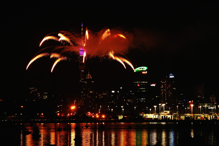 Auckland Celebrates New Year's Eve