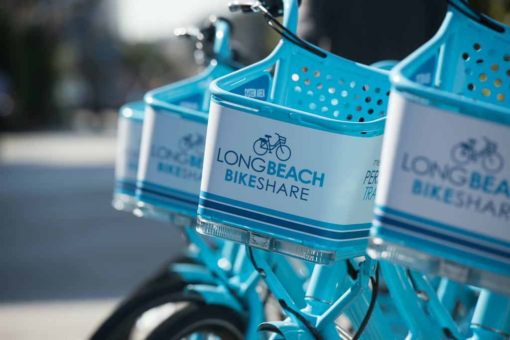 The Long Beach bike-share program launched last week, expanding the short-term rentals in Los Angeles County.