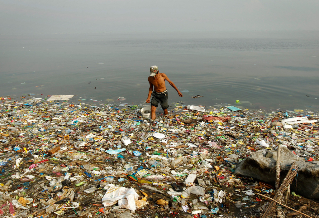 Plastic trash is choking the Earth