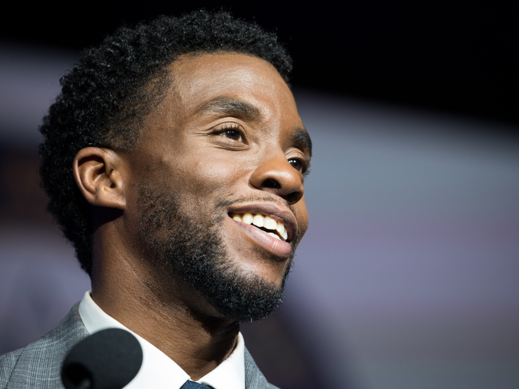 Actor Chadwick Boseman in 2017.