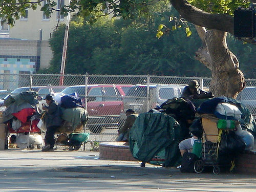 With over 40,000 homeless living on its streets, Los Angeles is the homeless capital of the country. Nearly four thousand of those homeless men and women live on Skid Row.