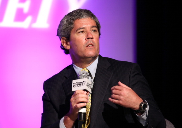 AT&T President of Content and Advertising Sales Aaron Slator attends Variety's Spring 2014 Entertainment and Technology Summit at The Ritz-Carlton in Marina Del Rey.