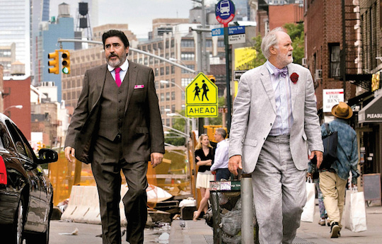 Alfred Molina and John Lithgow star in the new film,