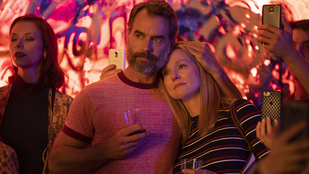 Murray Bartlett and Laura Linney are part of the ensemble in the Netflix series,