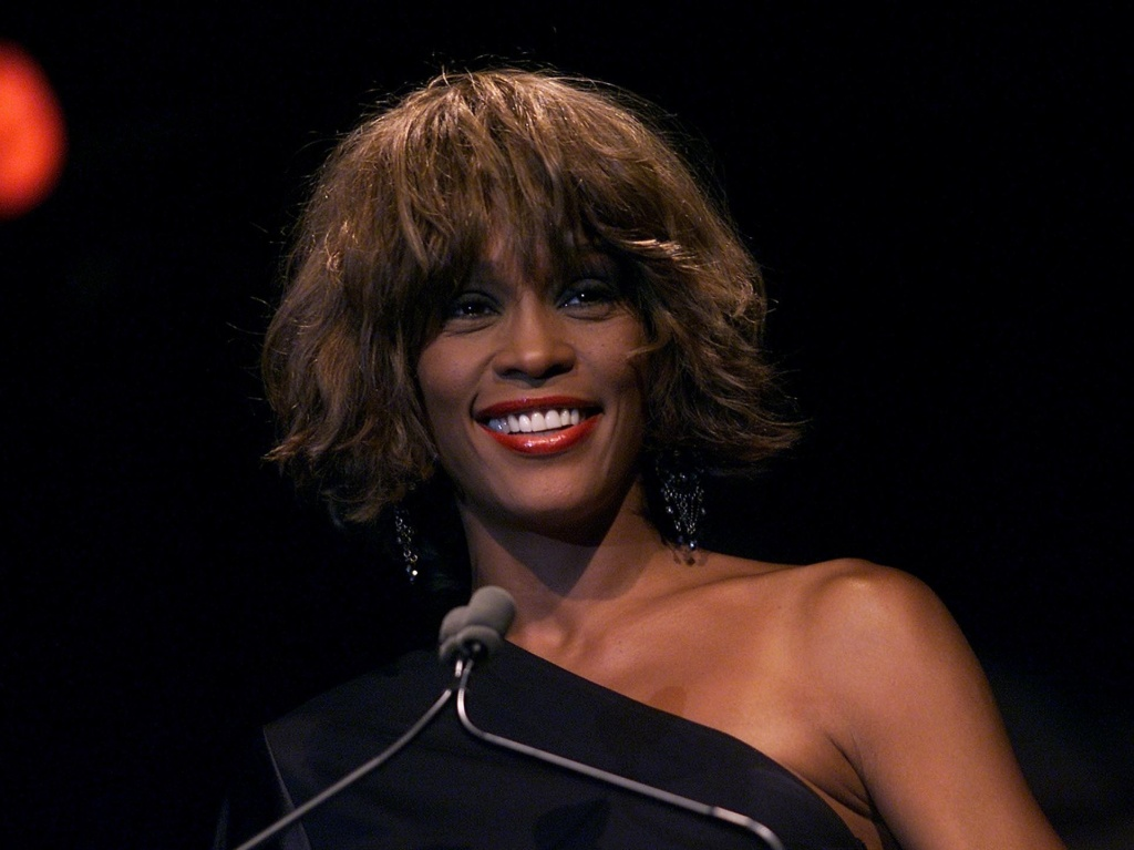 The late Whitney Houston, seen here in 2001, is on the list of names of
