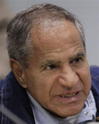 FILE - This March 2, 2011 file photo shows Sirhan Sirhan, 66, convicted of assassinating Sen. Robert F. Kennedy in 1968, speaking during a Board of Parole Suitability Hearing at the Pleasant Valley State Prison in Coalinga, Calif. Lawyers for Sirhan claim in new legal papers that he was manipulated by a seductive woman in a mind-control plot to kill Sen. Robert F. Kennedy. But the lawyers say Sirhan's bullets did not kill Kennedy.
