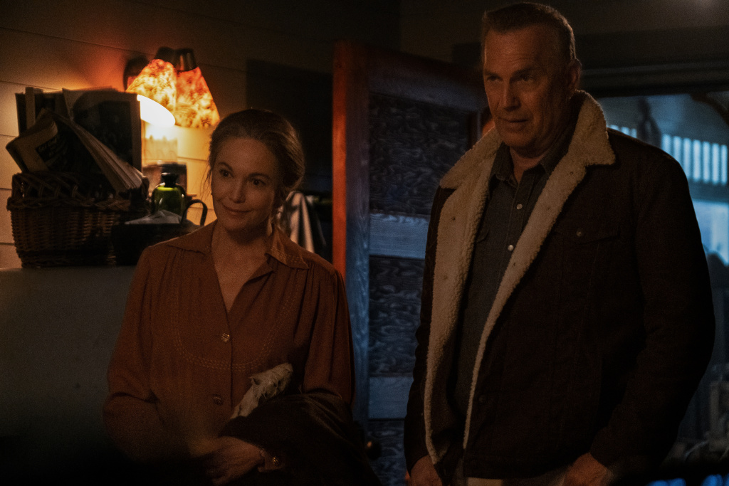 "Diane Lane stars as ""Margaret Blackledge"" and Kevin Costner stars as ""George Blackledge"" in director Thomas Bezucha's"