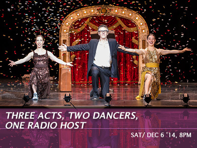 Ira Glass: Three Acts, Two Dancers, One Radio Host