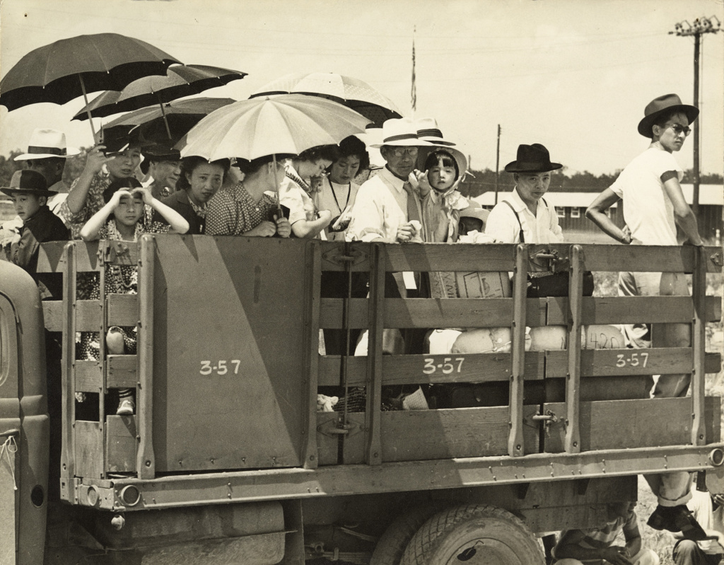 War Relocation Authority photo, taken at the Jerome concentration camp in Arkansas, June 18, 1944.