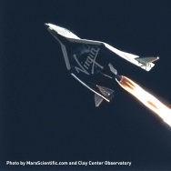 Virgin Galactic's SpaceShip Two reaches new heights