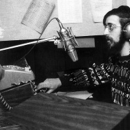 Rich Capparela on the radio in 1972.