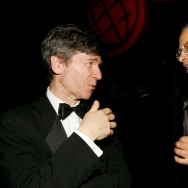 Professors Jeffrey Sachs and Peter Singer attend Time Magazine's 100 Most Influential People celebration May 8, 2006 in New York City.