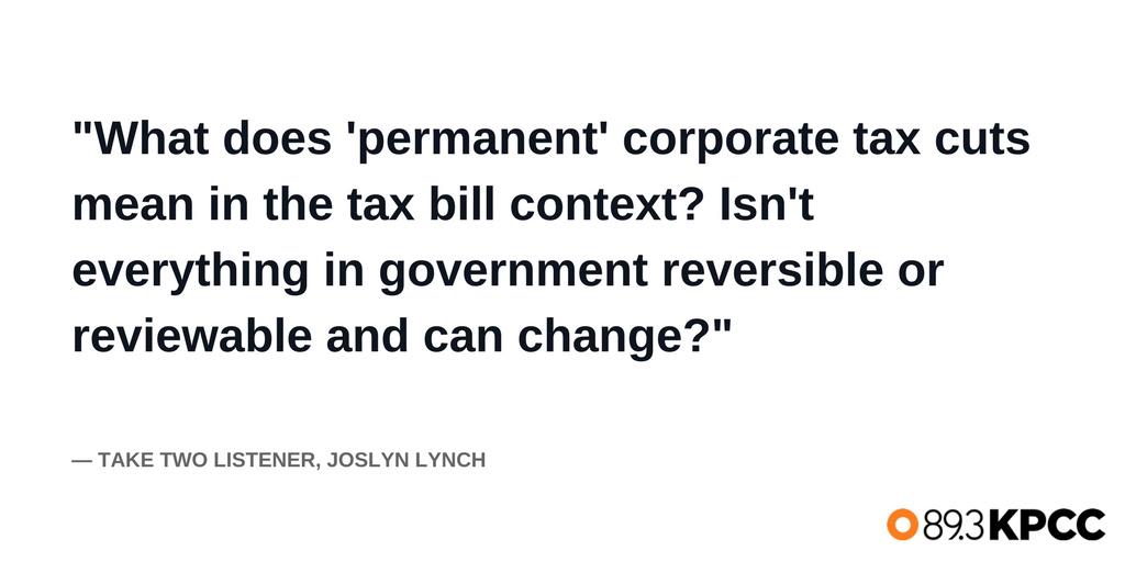 A tax question from listener Joslyn Lynch.