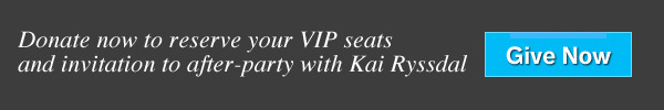 Donate now to reserve your VIP seats and invitation to after-party with Kai Ryssdal